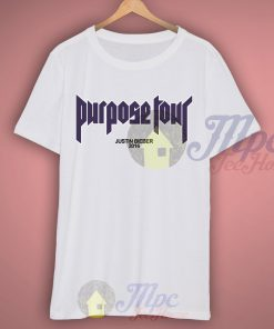 Purpose Tour Bieber 2016 T Shirt