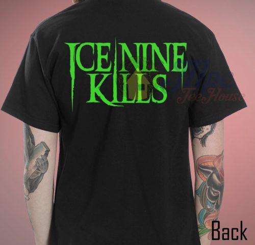 Reefer Fever Ice Nine Kills Back T Shirt