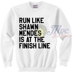 Run Like Shawn Mendes Sweatshirt