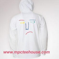 Sad Face Drawing Hoodie