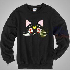 Sailor Moon Luna Cat Crewneck Sweatshirt