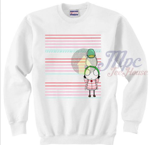 Sarah and Duck Crewneck Sweatshirt