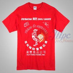 Sriracha Hot Chili Sauce tshirt