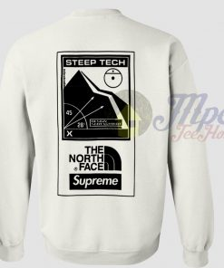 Steep Tech North Face Supreme Sweatshirt