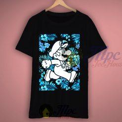 Super Mario Bros Floral T Shirt