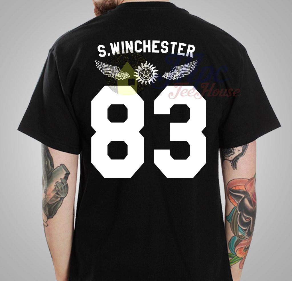 supernatural s winchester 83 t shirt