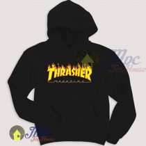 Thrasher Flame Symbol Unisex Hoodie