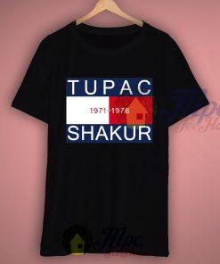 Tupac Shakur 1971-1976 Rapper T Shirt
