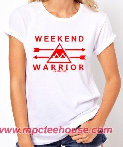 Weekend Warrior Jawbreaking T Shirt