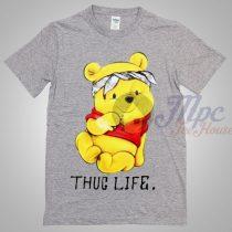 Winnie The Pooh Thug Life T Shirt
