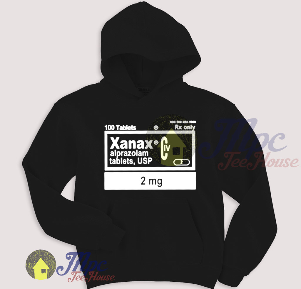Xanax Pullover Hoodie
