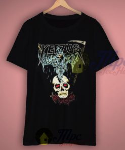 Yeezus Death Skull Tour T Shirt