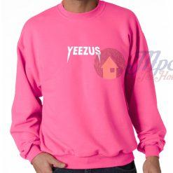 Yeezus Kanye West Symbol Pink Sweatshirt
