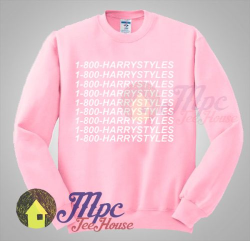 1-800-Harry Styles Hotline Bling Sweatshirt