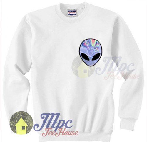 Alien Trippy Art Unisex Sweatshirt