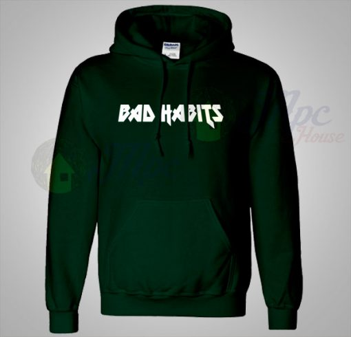Bad Habits Lyrics Unisex Hoodie