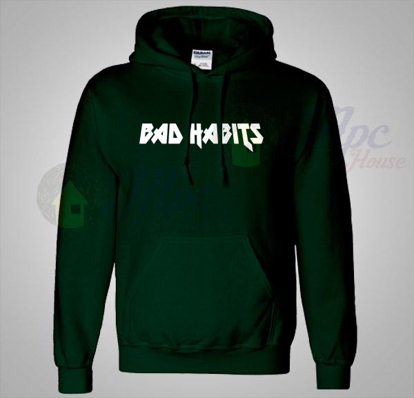 Bad Habits Lyrics Unisex Hoodie