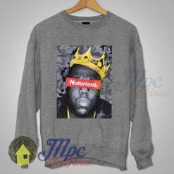 Big Notorious Biggie King Hiphop Legend Sweatshirt