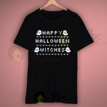 Boo Says Happy Halloween Witches T Shirt