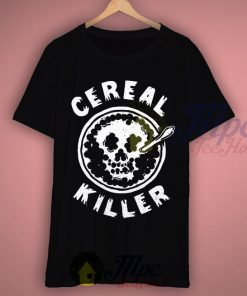 Cereal Killer Happy Halloween T shirt