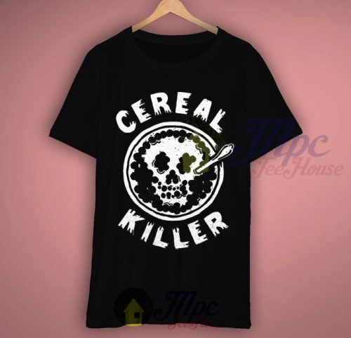 Cereal Killer Happy Halloween T shirt