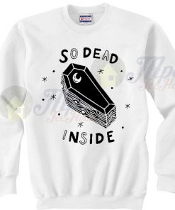 Coffin So Dead Inside Joker Sweatshirt