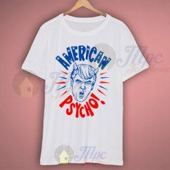 Donald Trump American Psycho Campaign T Shirt