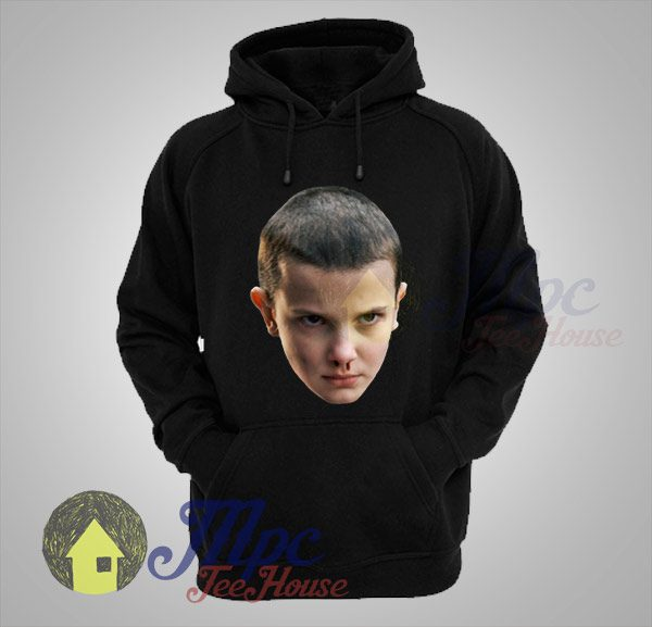 Eleven Faced Stranger Things Hoodie