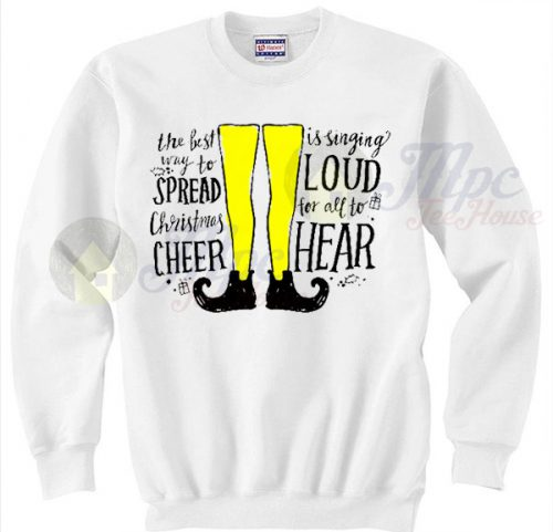 Elf Christmas Musical Song Sweater