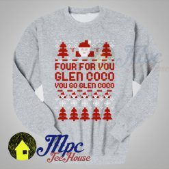 Four For You Glen Coco Christmas Sweater