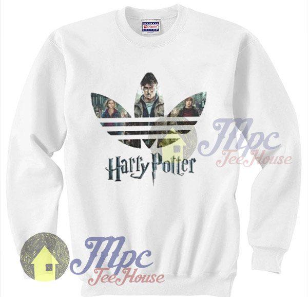 Funny Harry Potter Sweatshirt Adidas Inspired