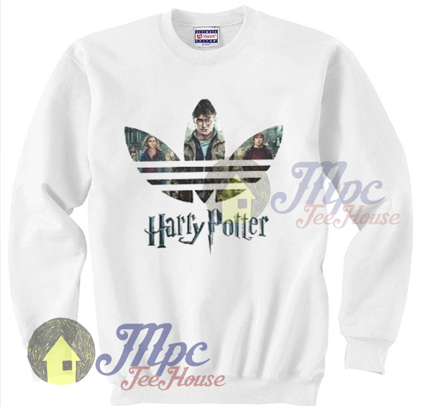 Funny Harry Potter Sweatshirt Adidas Inspired