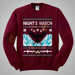 Game of Thrones Night Watch Christmas Sweater