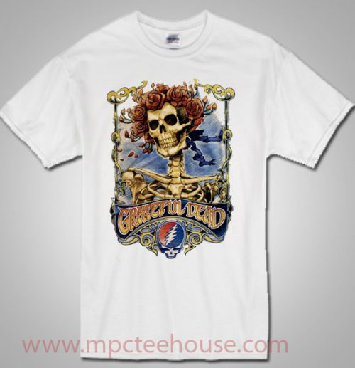 Grateful Dead Skull and Roses Big Bertha T Shirt