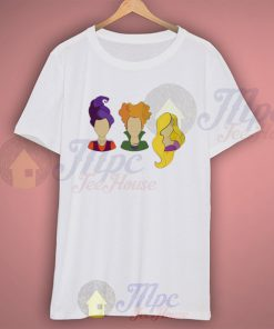 Hocus Pocus Heads Wideneck T Shirt
