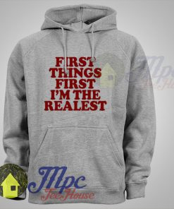 Iggy Azalea First Things First I'm The Realest Hoodie
