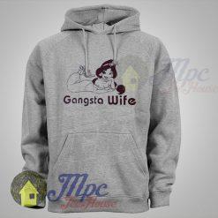 Jasmine Princess Gangsta Wife Hoodie
