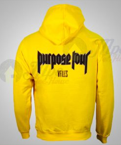 Justin Bieber Purpose Tour Vfiles Hoodie Print On Back