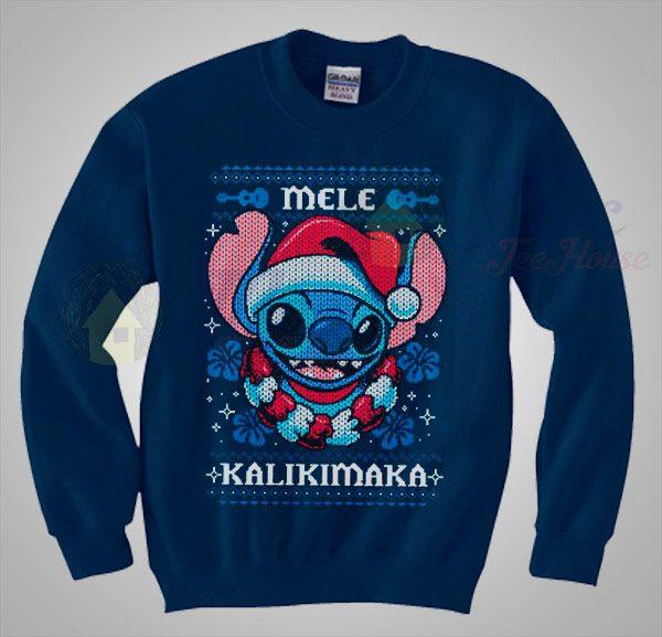 Lilo Stitch Disney Christmas Sweater
