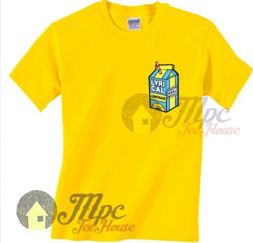 Lyrical Lemonade Juice Tshirt