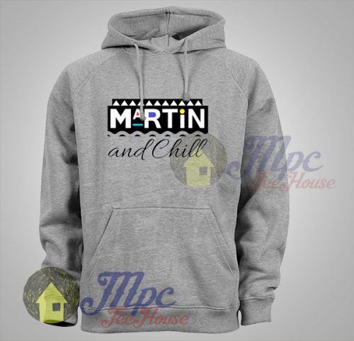 Martin and Chill Unisex Hoodie
