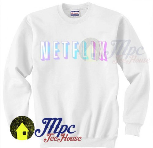 Netflix Colorful Symbol Unisex Sweatshirt