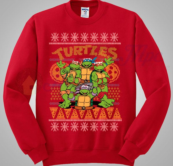 Ninja Turtles TMNT Christmas Sweater - Mpcteehouse