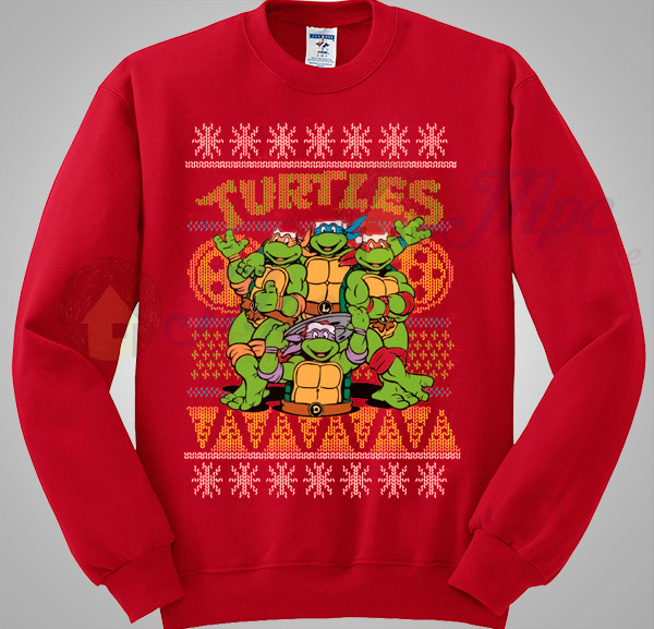 Ninja Turtles TMNT Christmas Sweater