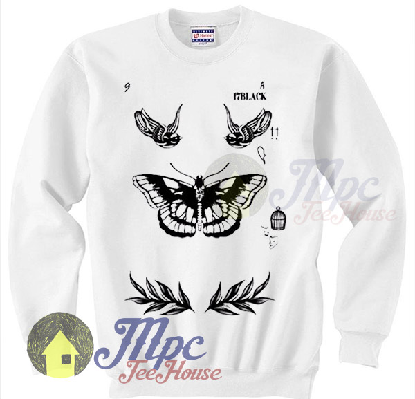 7d780b61064a One Direction Shirt Harry Styles Tattoo Sweater - Mpcteehouse