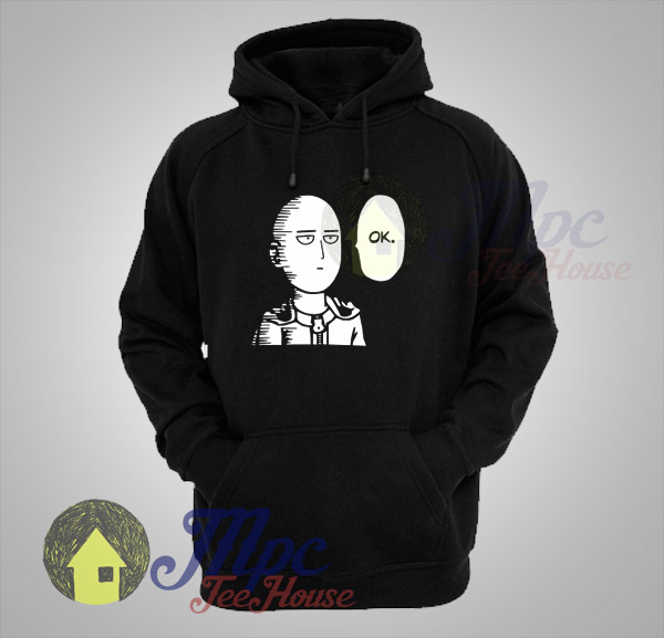 One Punch Man Ok Anime Hoodie Mpcteehouse Discover and share the best gifs on tenor. one punch man ok anime hoodie mpcteehouse