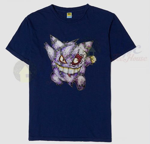 Pokemon Gengar Zombie T Shirt