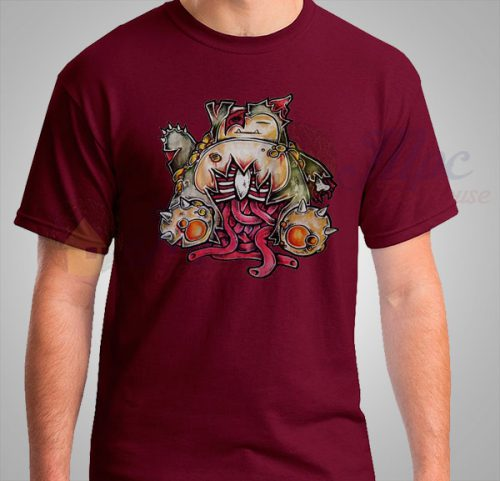 Pokemon Snorlax Zombie Halloween T Shirt