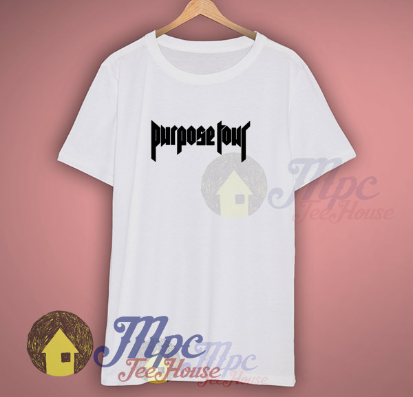 Purpose Tour Bieber 2016 Symbol T Shirt Mpcteehouse