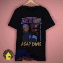 Rest In Peace Asap Yams Rapper T Shirt